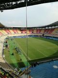 stadion Macedonia Real Madrid Manchester di gradski Fotografia Stock