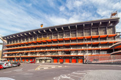 Stadion Mestalla in Valencia Stockfotografie