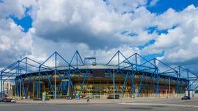 Stadion Metalist, het voorwerp van Euro 2012 spelen stock foto's