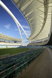 Stadion Moses-Mabhida, FIFA-Fußball. Sitzbereich Stockbilder