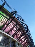 Stadion murrayfield stockfotografie