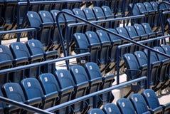 Stadion- oder Kinositze Stockfoto