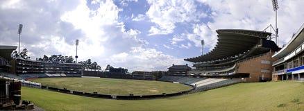 stadion panoramiczni krykieta wędrowowie Obraz Stock