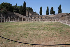 Stadion in Pompeji-Ruinen Lizenzfreie Stockfotografie