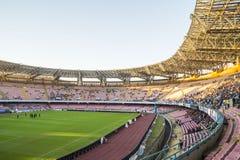 Stadion San Paolo, Napoli Stockfoto