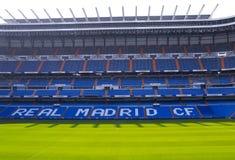 Stadion Santiago-Bernabeu Stockbild