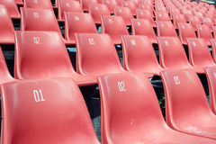 Stadion-Sitze stockfoto