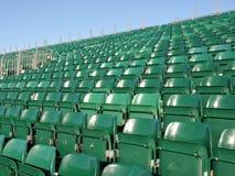 Stadion-Sitze Lizenzfreie Stockbilder