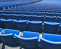 Stadion-Sitze Stockfotografie