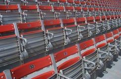 Stadion-Sitze Lizenzfreies Stockbild