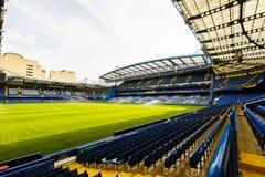 stadion stamford för brochelseafc Arkivfoto