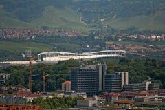Stadion, Stuttgart Stockfotografie
