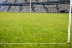 Stadion tegen 3d hemel Stock Fotografie