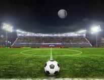 Stadion vóór de gelijke stock foto