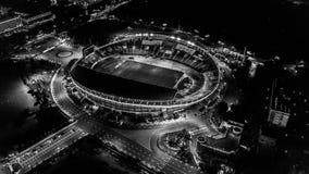 Stadion van hierboven royalty-vrije stock fotografie