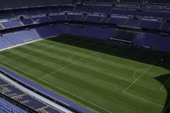Stadion von Real Madrid Stockfotografie