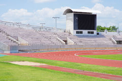 Stadion vorher Lizenzfreies Stockbild