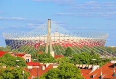 stadion warsaw för national 2012 Fotografering för Bildbyråer