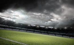 Stadion, Wiedergabe 3d Lizenzfreies Stockfoto