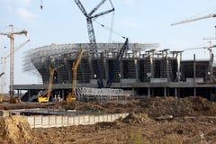 Stadionaufbau Lizenzfreies Stockfoto
