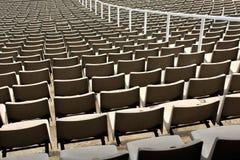 Stadionbank Stockfotografie