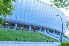 Stadiondak royalty-vrije stock fotografie