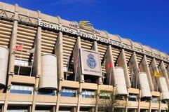 Stadion av Real Madrid, Spanien Royaltyfri Bild