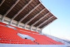 Stadionen placerar Arkivfoton