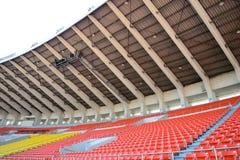 Stadionen placerar Arkivbild