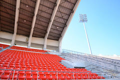 Stadionen placerar Royaltyfria Bilder