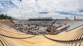 Stadionkonstruktion Arkivbilder