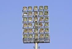 Stadionleuchten lizenzfreie stockbilder