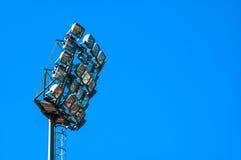 Stadionleuchten Lizenzfreie Stockfotos