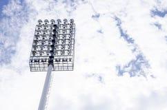 Stadionlicht Stock Foto's