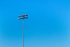 Stadionlicht Royalty-vrije Stock Afbeelding