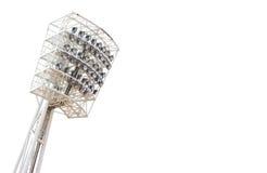 Stadionljus. arkivbild