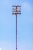 Stadionljus Arkivbilder