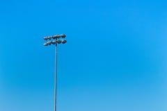 Stadionljus Royaltyfri Bild