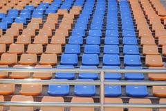 Stadionplatser för klocka någon sport eller fotboll Arkivbild