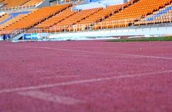 Stadionplatser för klocka någon sport eller fotboll Arkivfoto