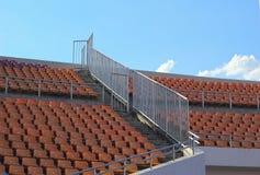 Stadionplatser för klocka någon sport eller fotboll Royaltyfri Bild