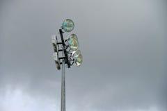 Stadions-Flut-Licht Stockbild