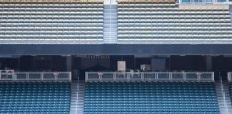 Stadions-Sitze Lizenzfreies Stockbild