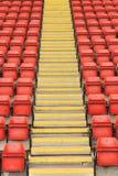 Stadions-Sitze Lizenzfreie Stockfotografie