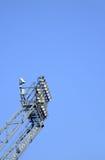Stadionscheinwerfer   Lizenzfreies Stockfoto