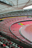 Stadionsitze stockfotografie