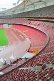 Stadionsitze stockbilder