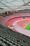 Stadionsitze lizenzfreies stockfoto