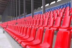 Stadionsitze Lizenzfreies Stockbild