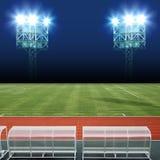 Stadionslichter Lizenzfreie Stockbilder